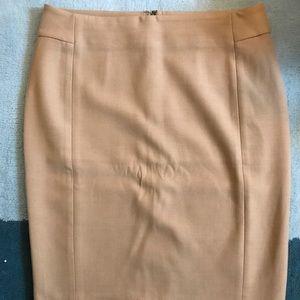 LOFT Pencil Skirt in Camel (WMN 8)